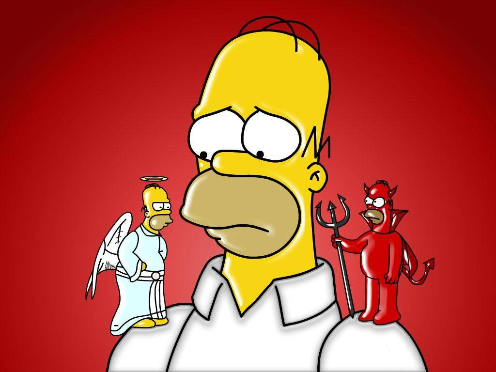 218319-the-simpsons-homer-and-his-devil-and-angel